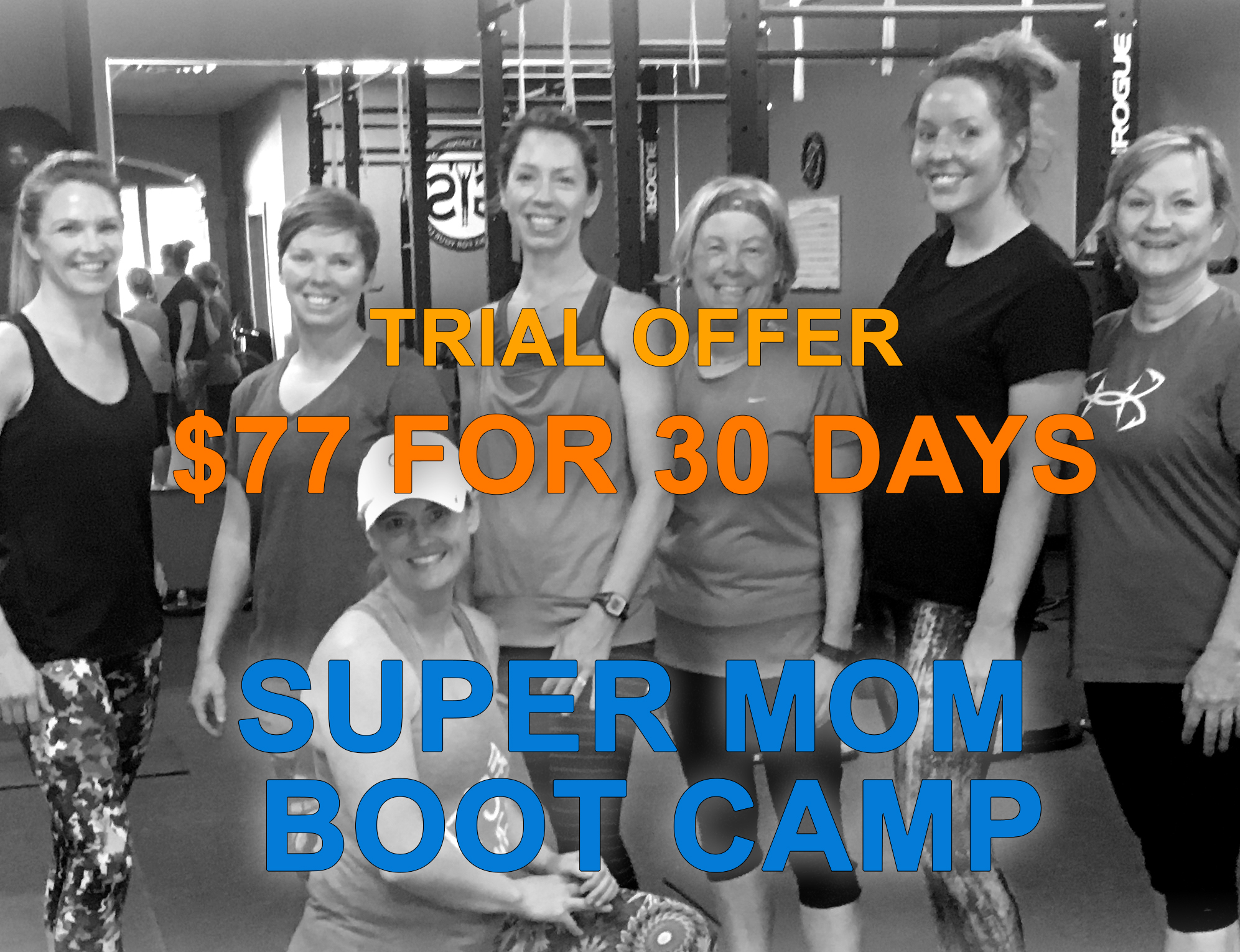 $77 for 30 Days Boot Camp