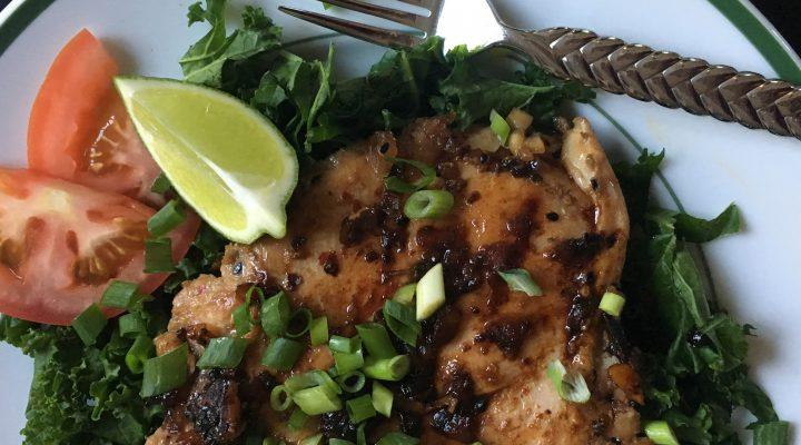 Korean Style Grilled Chicken