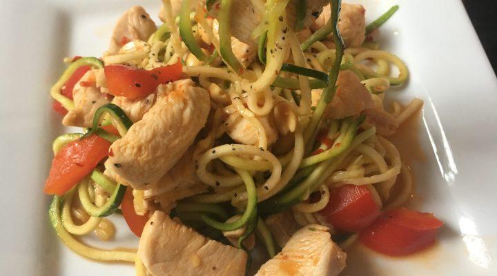 Drunken Thai Noodles
