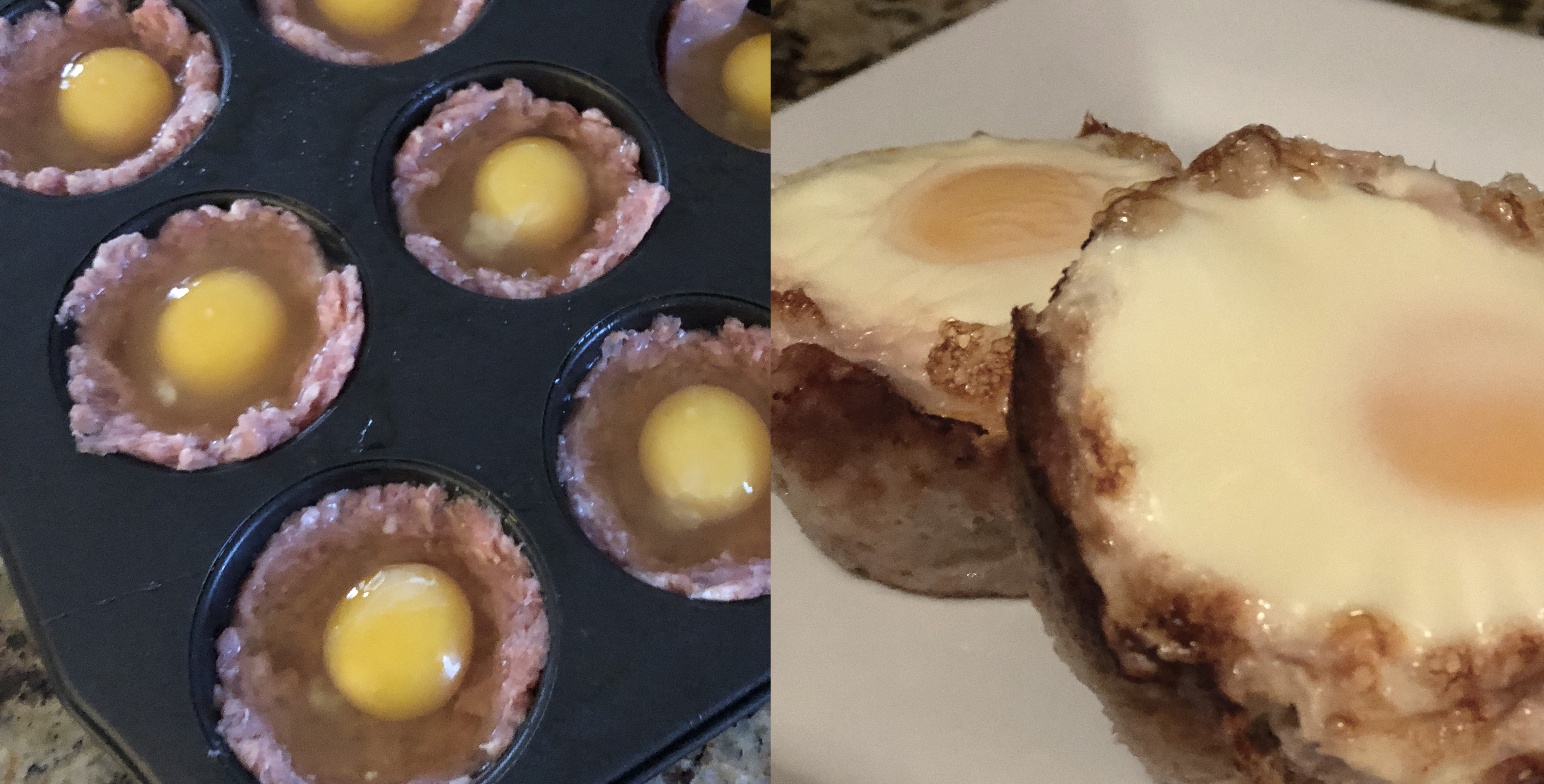 Sausage & Egg Muffins