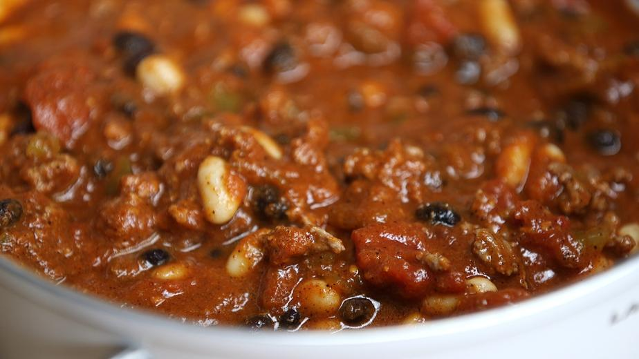 Low Carb Slow Cooker Turkey Chili