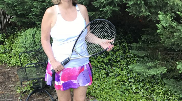 Joy Lives Pain Free and Improved Her Tennis Game